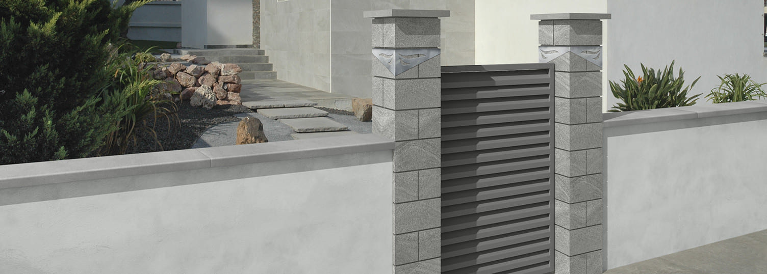 More possibilities with our wet-cast wall coping